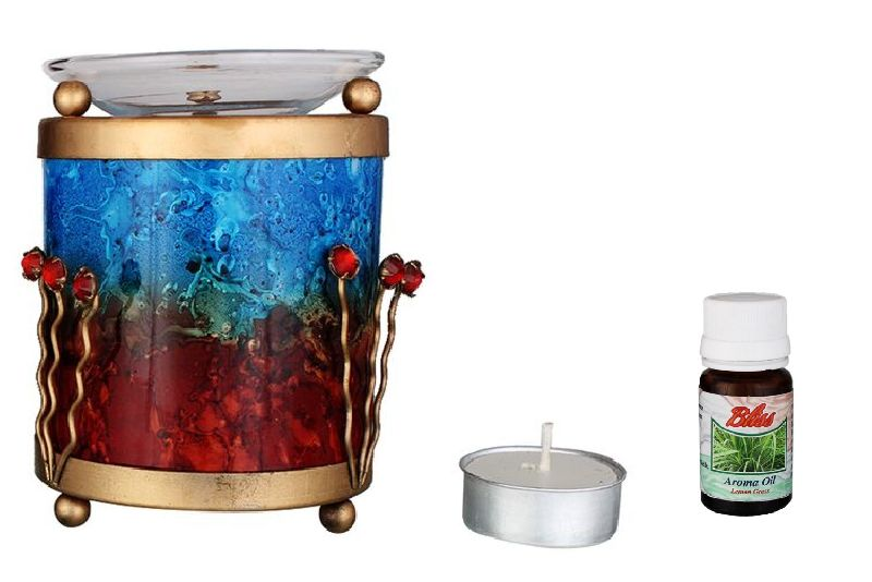 Glass Aroma Oil Burner 05