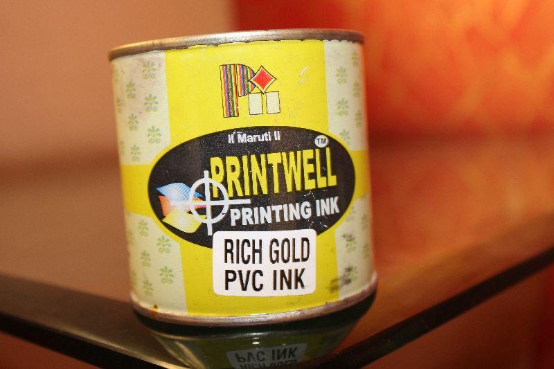 PVC Gold Screen Printing Ink 01