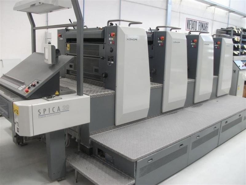 429 Komori Offset Printing Machine
