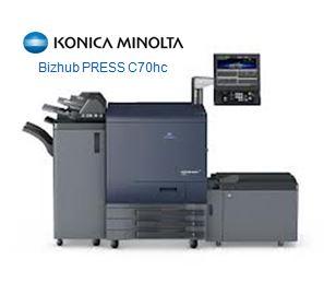 C70HC Used Konica Minolta CMYK Colour Machine