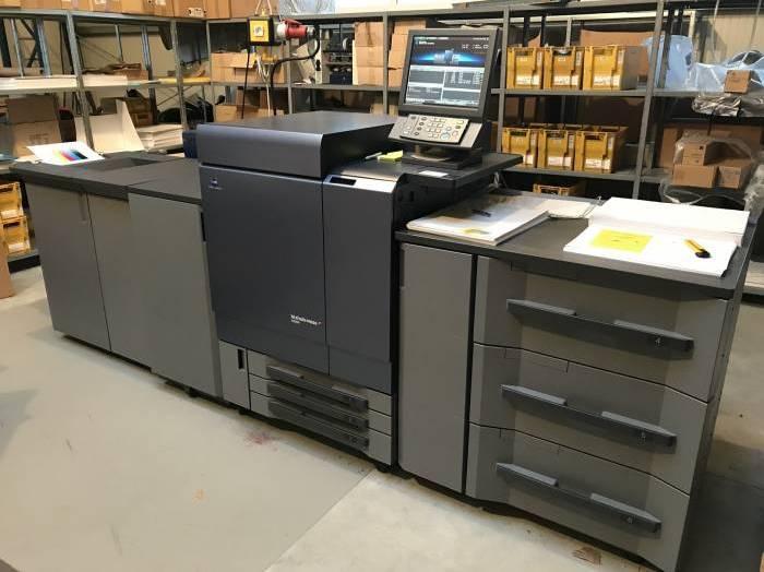 C8000 Used Konica Minolta CMYK Colour Machine