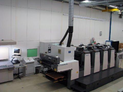 L428 Komori Offset Printing Machine