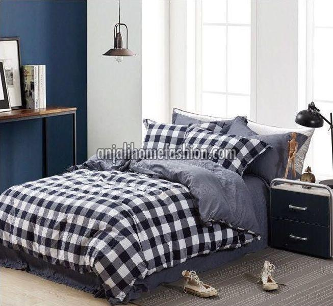 Check & Stripe Bed Sheets