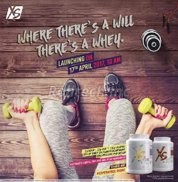 XS Whey Protein Powder
