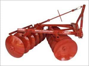 Bush Type Mounted Offset Disc Harrow