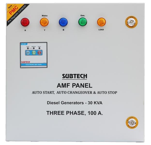Automatic Mains Failure Panel 01