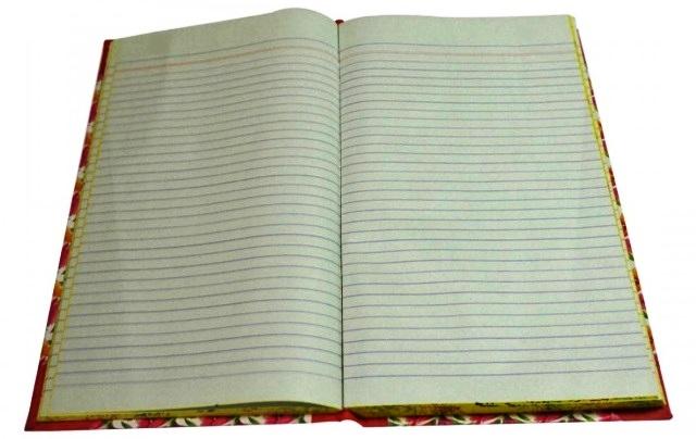 64 Sheet Premium Long Ruled Registers