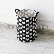 Printed Laundry Basket