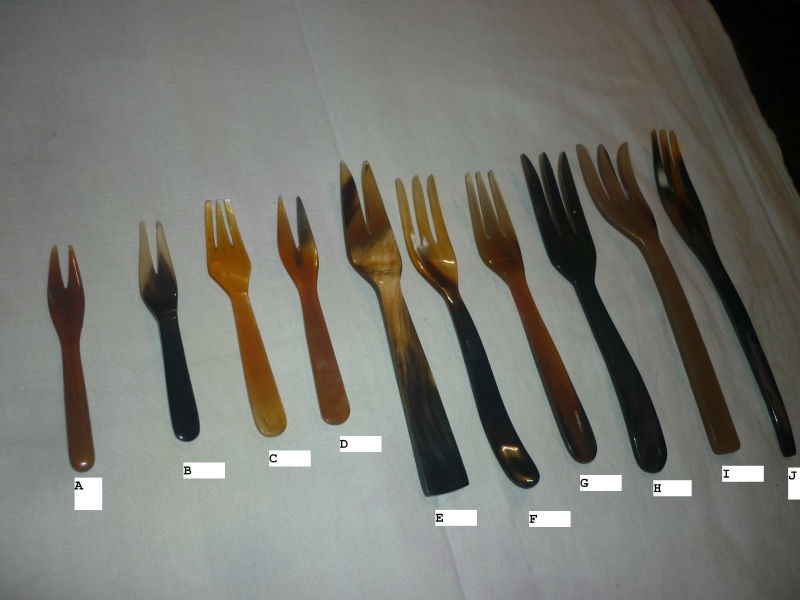 Horn Spoon And Fork 02