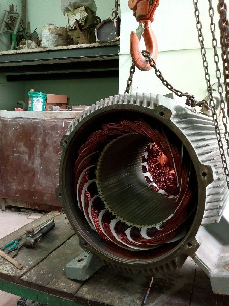Motor Rewinding Services in Rohtak,DC Motor Rewinding
