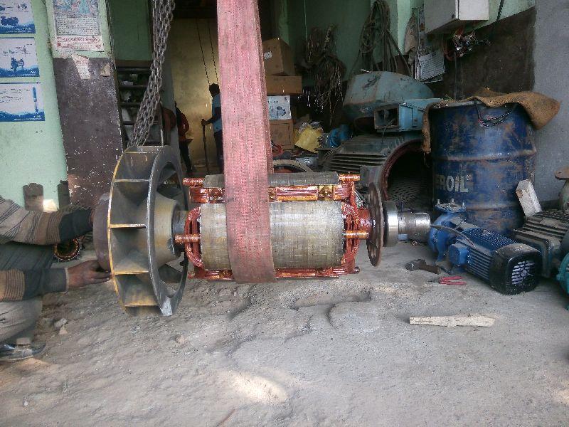 320 KVA CG Rotor Alternator Rewinding Services