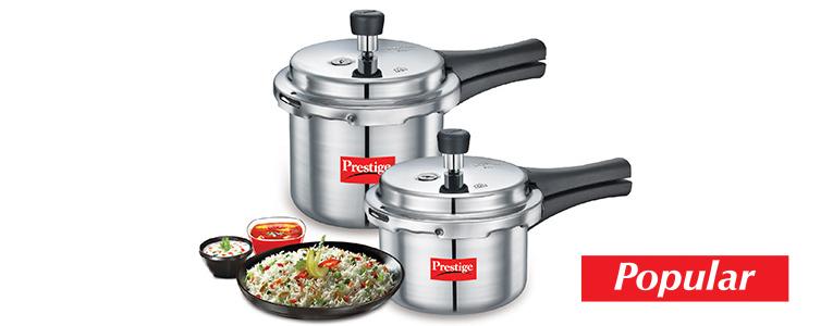Prestige Pressure Cooker Popular Range