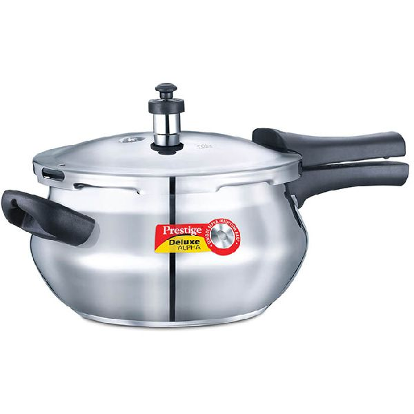 Prestige Steel Pressure Cookers Handi Shape