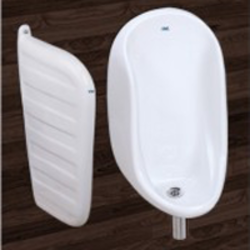 Partition Plate Half Stall Mens Urinal