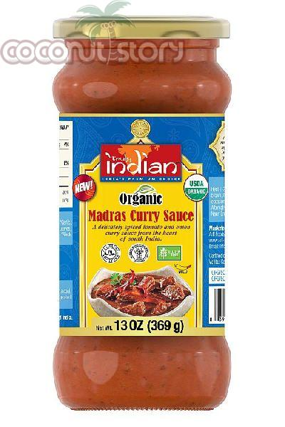 Organic Madras Curry Sauce
