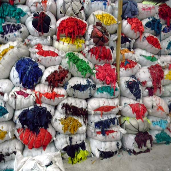 Colored Cotton Fabric Waste Clips