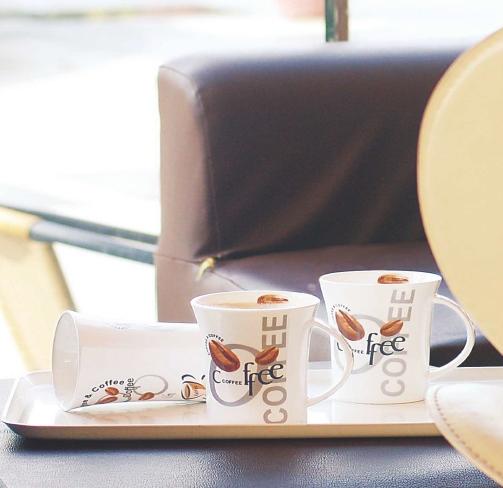Bone China Tea & Coffee Cups Set
