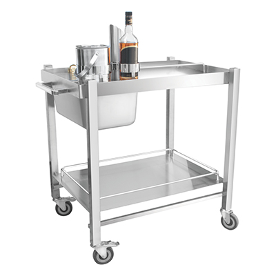 Stainless Steel Bar Trolley 05