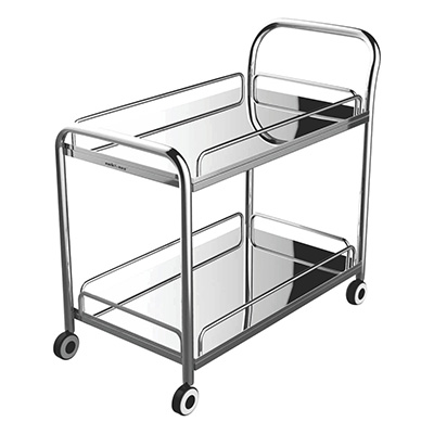 Stainless Steel Multi Utility Trolley 01