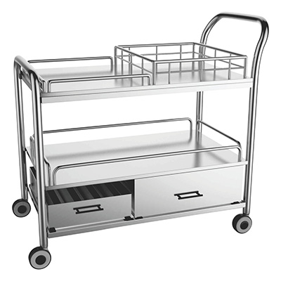 Stainless Steel Multi Utility Trolley 03
