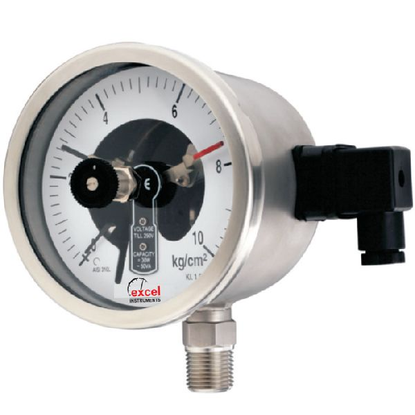 BEC Electric Contact Type Pressure Gauges