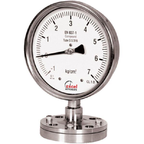 DS2 Diaphragm Sealed Type Pressure Gauges