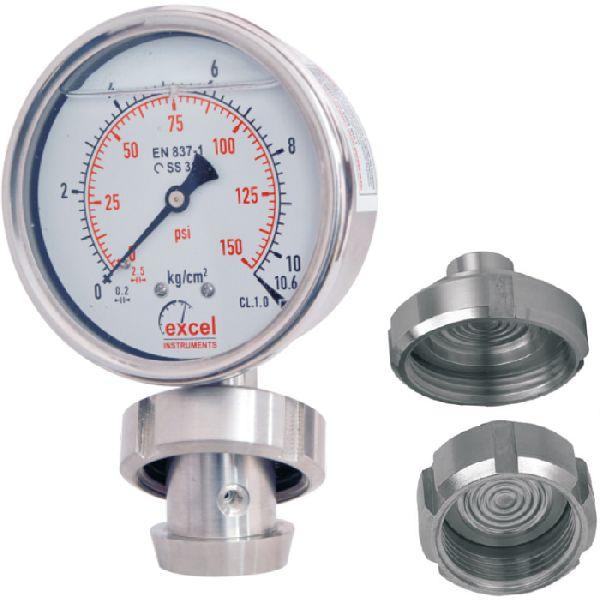 DSSMS Diaphragm Sealed Type Pressure Gauges
