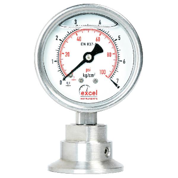 DSTC Diaphragm Sealed Type Pressure Gauges