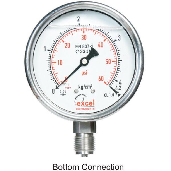 ESW Bourdon Type Pressure Gauges