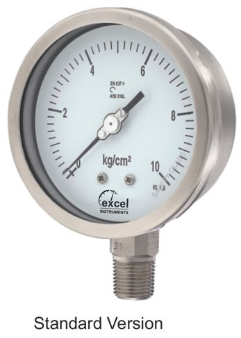 WP4 Bourdon Type Pressure Gauge 01