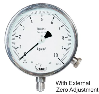 WP4 Bourdon Type Pressure Gauge 02