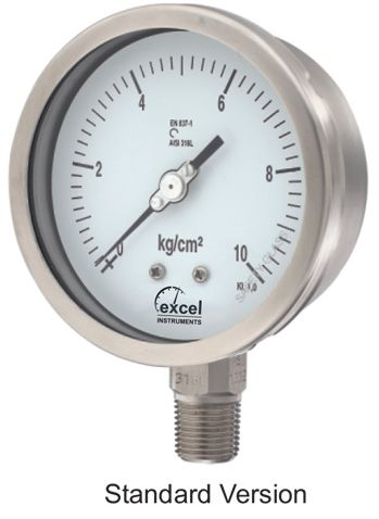 WP6 Bourdon Type Pressure Gauge 01