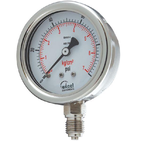 WPT Bourdon Type Pressure Gauges