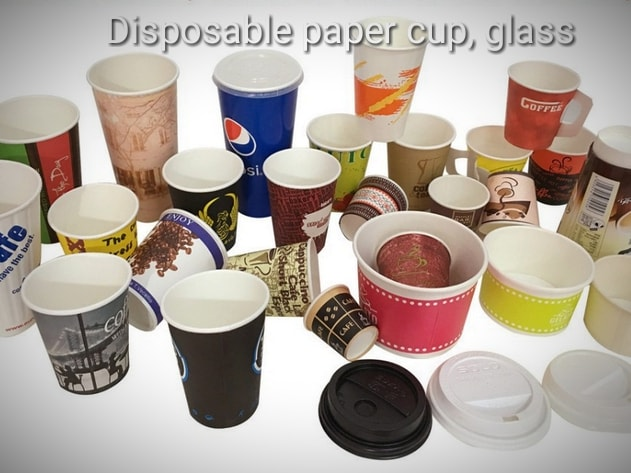 Disposable Paper Glass and Cups