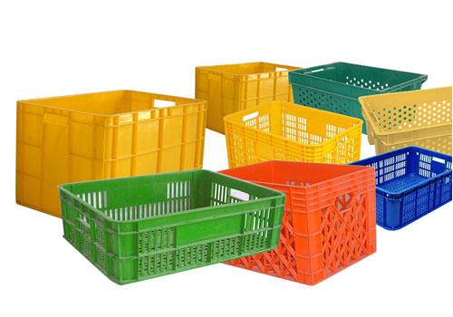 Fruit & Vegetable Plastic Crates