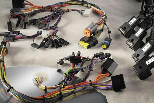electronic test wiring harness