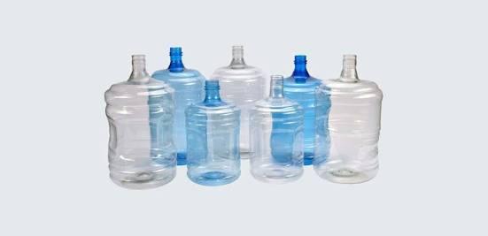 Mineral Water PET Jars