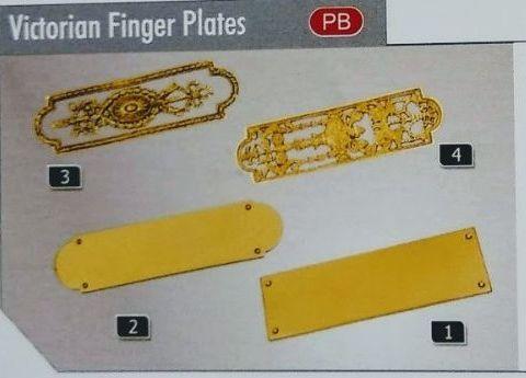 Victorian Finger Plates