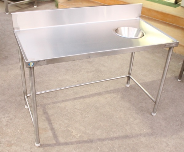 Stainless Steel Garbage Chute Table