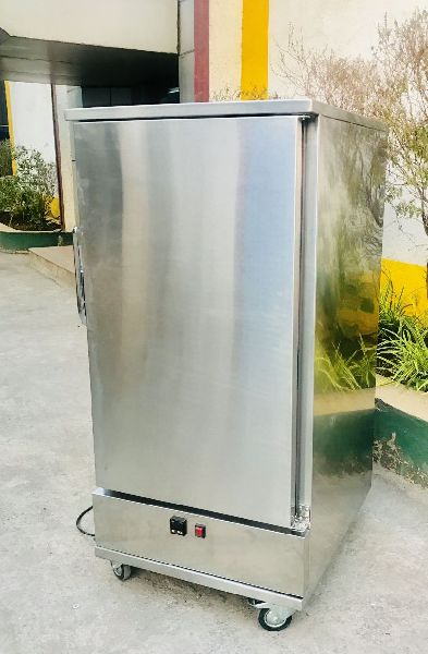 Stainless Steel Hot Food Cart