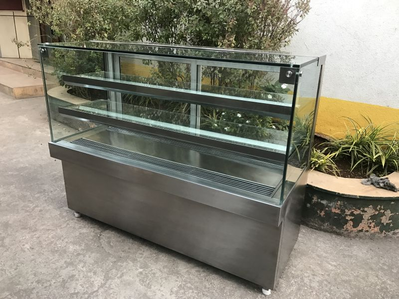 Stainless Steel Pastry Display Cabinet