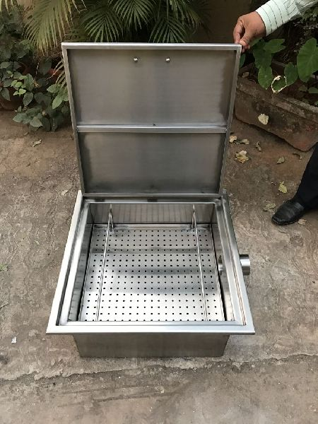 Stainless Steel Cash Collection Chamber