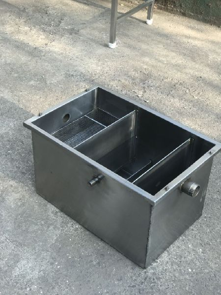 Stainless Steel Grease Chamber