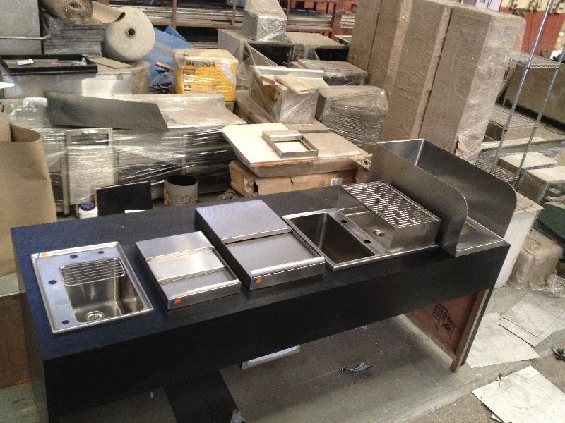 Stainless Steel Ice Cube Bins