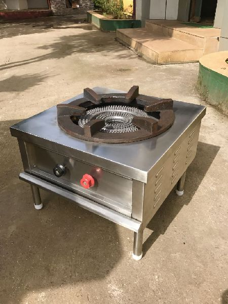 Stainless Steel Single Burner Gas Stove 01