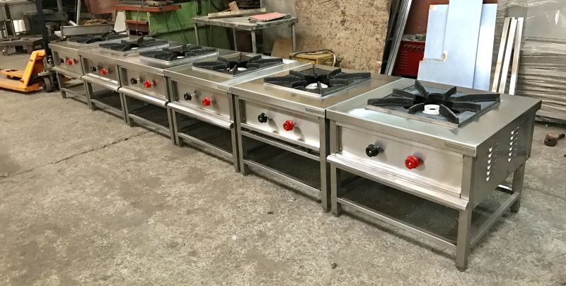 Stainless Steel Single Burner Gas Stove 02