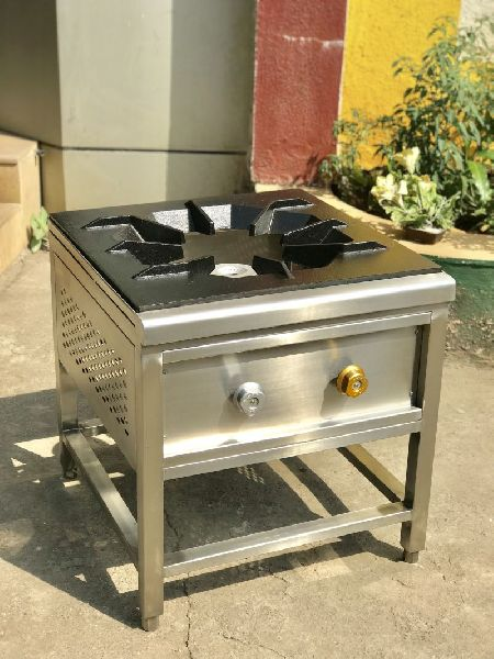 Stainless Steel Single Burner Gas Stove 03