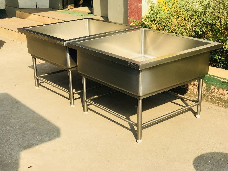 Stainless Steel Soak Sink