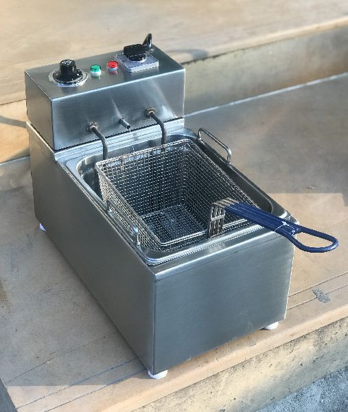 Stainless Steel Table Top Fryer