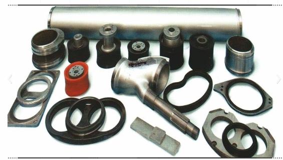 Sika Aliva Shotcrete Machine Spare Parts